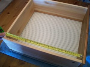 Measure the drawer
