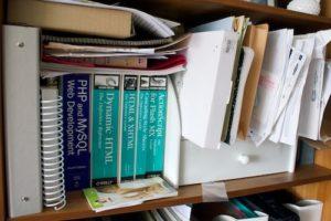 Bookshelf (Before)