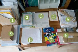 Sorted piles