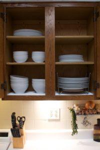 Organized dishes