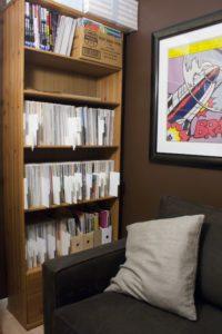 Comic library