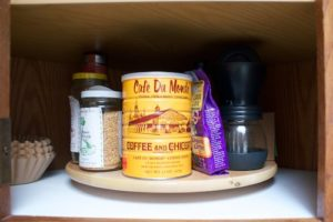 Cabinet after (coffee side)