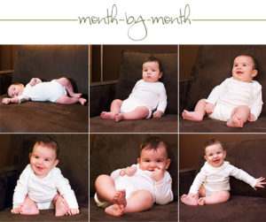 Month-by-month (6 months old)