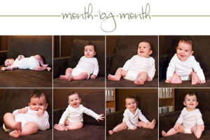 Month-by-month (8 months old)